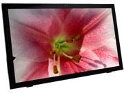 "PLANAR PCT2485 Black 24"" USB Projected Capacitive Touchscreen Monitor Multi-Touch (10 Points) w/ webcam"