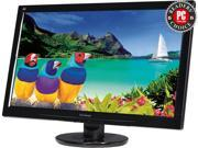 "ViewSonic VA2445m-LED Black 24"" 5ms Widescreen LED Backlight LCD Monitor"