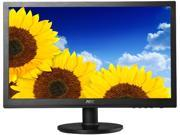 "AOC E2060SWDA Black 19.5"" 5ms LED Backlight Monitor"