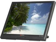 "TATUNG TLTM19AD Black 19"" Serial/USB 5-wire Resistive Touchscreen Monitor"