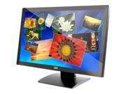 "3M M2467PW Black 24"" USB Projected Capacitive 20-finger Multi-touch Monitor"