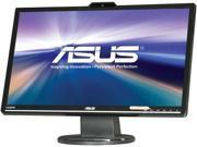 "ASUS VK248H-CSM Black 24"" 2ms (GTG) HDMI Widescreen LED-Backlit LCD Monitor 250 cd/m2 ASCR 50000000:1 Built-in Speakers&Webcam"