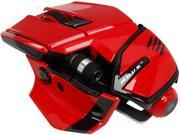 Mad Catz M.O.U.S. 9 MCB437150013/04/1 Red 10 1 x Wheel USB Laser Mouse