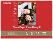"Canon 2311B031 4"" x 6"" 400 Sheets Photo Paper Plus Glossy II (PP-201)"