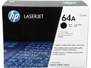 HP 64A Black LaserJet Toner Cartridge (CC364A)