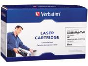 Verbatim HP CE285A Remanufactured Toner Cartridge for LaserJet P1102, 1102W, M1130, 1210MFP, Black