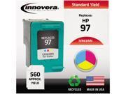 Innovera 63WN Compatible Remanufactured C9363WN (97) Ink Tri-Color