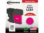 Innovera IVRLC61M Magenta Ink Cartridge