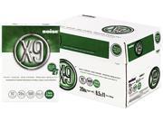 Boise OX-9001-P X-9 Copy 3-Hole Punched Paper, 92 Brightness, 20lb, Ltr, White, 5000/Carton