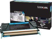 LEXMARK C746A4CG Toner Cartridge - Cyan