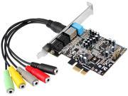 SIIG IC-710211-S1 7.1 Channels PCI Interface DP SoundWave
