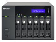 QNAP TS-670-US Intel 2.6GHz/ 2GB RAM/ 4GbE/ 6SATA3/ 2eSATA/ USB3.0/ 6-Bay Tower NAS Server for SMB