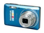 OLYMPUS Stylus 5010 Blue 14 MP 5X Optical Zoom 26mm Wide Angle Digital Camera