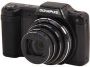 OLYMPUS SZ-15 V102110BU000 Black 16 MP 24X Optical Zoom Wide Angle Digital Camera HDTV Output