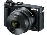 "Nikon 1 J5 27707 Black 20.8 MP 3.0"" 1037K Touch LCD Mirrorless Digital Camera with 10-30mm Lens"