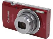 Canon PowerShot ELPH 135 9156B001 Red 16 MP 8X Optical Zoom 28mm Wide Angle Digital Camera