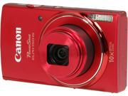 Canon PowerShot ELPH 150 IS 9362B001 Red 20.0 MP 10X Optical Zoom 24mm Wide Angle Digital Camera