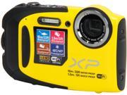 "FUJIFILM FinePix XP70 16409856 Yellow 16.4MP 2.7"" 460K Action Camera"