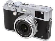 FUJIFILM X100T Silver 16.3 MP Digital Camera HDTV Output