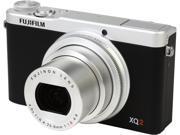 FUJIFILM XQ2 16454942 Silver 12.0 MP 4X Optical Zoom 25mm Wide Angle Digital Camera HDTV Output