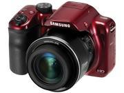 SAMSUNG WB1100F Red 16.2 Megapixel 35X Optical Zoom Smart Digital Camera