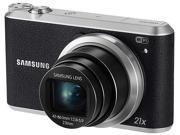 SAMSUNG WB350F Black 16.3 Megapixel 21X Optical Zoom Smart Digital Camera