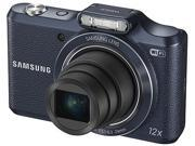 SAMSUNG WB50F Black 16.2 Megapixel 12X Optical Zoom Smart Digital Camera