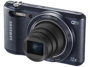 SAMSUNG WB35F EC-WB35FZBPBUS Black 16.2MP 12X Optical Zoom 24mm Wide Angle Smart Digital Camera