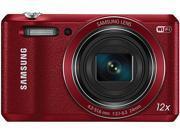 SAMSUNG WB35F Red 16.2 Megapixel 12X Optical Zoom Smart Digital Camera