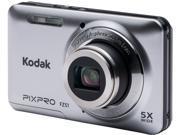 Kodak FZ51-SL Silver 16.15 Megapixels 5X Optical Zoom Wide Angle Friendly Zoom Digital Camera