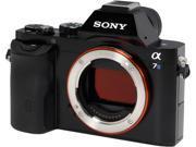 "SONY Alpha a7S ILCE7S/B Black 12.2MP 3.0"" 921.6K Touch LCD Mirrorless Digital Camera - Body"