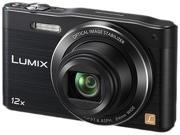 Panasonic Lumix SZ8 DMC-SZ8K Black 16 MP 12X Optical Zoom Digital Camera