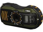 PENTAX WG-3 GPS 12662 Green 16 MP 4X Optical Zoom Waterproof Shockproof Digital Camera HDTV Output