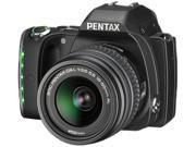 PENTAX K-S1 06424 Black 20.12MP Digital SLR Camera w/ DA L 18-55mm Lens