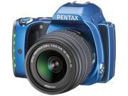 PENTAX K-S1 06493 Blue 20.12MP Digital SLR Camera w/ DA L 18-55mm Lens