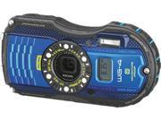 "Ricoh WG-4 GPS 8557 Blue 16 MP 3.0"" 460k Tough Camera"