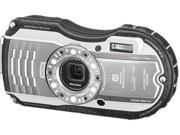 "Ricoh WG-4 8572 Silver 16 MP 3.0"" 460k Tough Camera"
