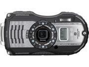 """Ricoh WG-5 GPS 04653 Gunmetal 16 MP 3.0"""" 460K Tough Camera"""
