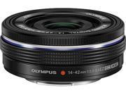 OLYMPUS V314070BU000 M.Zuiko ED 14-42mm F3.5-5.6 EZ Lens Black