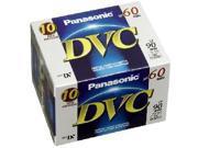 Panasonic AY-DVM6EJ10P 10-pack of 60-minute DVC Mini DV Tapes