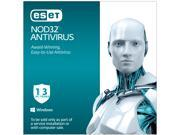 ESET NOD32 Antivirus 2015 - 1 PC / 3 Years
