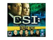 CSI Deadly Intent Jewel Case PC Game