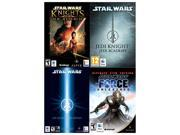 LucasArts Power Pack (Knights of the Old Republic, Jedi Knight: Jedi Academy, Jedi Knight II: Jedi Outcast, The Force Unleashed: Ultimate Sith) for Mac [Online Game Codes]