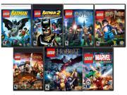 LEGO Complete Heroes Pack (Batman 1 + 2, HP 1 - 7, LOTR, Hobbit, Marvel SH) [Online Game Codes]