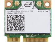 Intel 7260HMW AN IEEE 802.11 Dual Band N600 Mini PCI Express Wi-Fi plus Bluetooth 4.0 Combo Adapter, 2.4GHz 300Mbps/5GHz 300Mbps