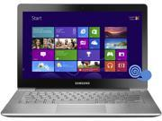 "SAMSUNG ATIV Book 7 NP740U3E-K01US Ultrabook Intel Core i5 3337U (1.80GHz) 4GB Memory 128GB SSD Intel HD Graphics 4000 Shared memory 13.3"" Touchscreen Windows 8 64-bit"