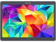 "Samsung Galaxy Tab S SM-T807A 16 GB Tablet - 10.5"" - Wireless LAN - AT&T - Charcoal Gray"