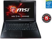 """MSI GP Series GP62 Leopard Pro-002 Gaming Laptop 5th Generation Intel Core i7 5700HQ (2.70GHz) 8 GB Memory 1 TB HDD NVIDIA GeForce GTX 950M 2GB DDR3 15.6"""" Windows 8.1 64-Bit"""