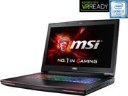 "MSI GT Series GT72S Dominator ProG Dragon-070 Gaming Laptop 6th Generation Intel Core i7 6820HK (2.70 GHz) 32 GB Memory 1 TB HDD 256 GB SSD NVIDIA GeForce GTX 980 8 GB GDDR5 17.3"" Windows 10 Home 64-B"