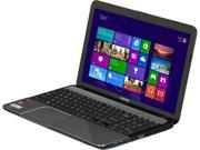 "TOSHIBA Satellite L855D-S5139NR Notebook AMD A-Series A8-4500M (1.90GHz) 6GB Memory 750GB HDD AMD Radeon HD 7640G 15.6"" Windows 8"